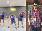 मास्टर फिल्म के गाने पर जिम में नाचते दिखे अश्विन, पंड्या और कुलदीप; वीडियो वायरल|क्रिकेट,Cricket - Dainik Bhaskar