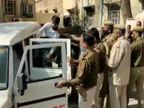 सोशल मीडिया पर कहा- कलेक्ट्रेट पहुंचकर जिंदा समाधि लूंगा, पुलिस ने पकड़ा; पहले भी रोका था रास्ता अलवर,Alwar - Dainik Bhaskar