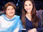 माधुरी दीक्षित बोलीं-सरोज खान कहती थीं घर पर तुम्हारी मां हैं, लेकिन सेट पर मैं तुम्हारी मां हूं बॉलीवुड,Bollywood - Dainik Bhaskar