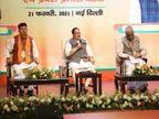डॉ रमन सिंह बोले- किसानों का आंदोलन अब सिर्फ कांग्रेस और लेफ्ट पार्टियों की साजिश, देश के दूसरे राज्यों में किसान कानून से खुश हैं|रायपुर,Raipur - Dainik Bhaskar
