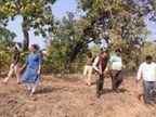 पति के साथ अवैध संबंधका शक था, पत्नी ने प्रेमिका के सिर पर कुल्हाड़ी मारी, नालेमें दफनाया शव|मध्य प्रदेश,Madhya Pradesh - Dainik Bhaskar