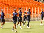 कोहली एंड टीम ने मोटेरा स्टेडियम में नेट प्रैक्टिस में बहाया पसीना, BCCI ने वीडियो शेयर किया|क्रिकेट,Cricket - Dainik Bhaskar