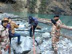 14 हजार फीट की ऊंचाई पर बनी झील की गहराई नापी गई, डैम की दीवार पर पड़ रहे प्रेशर का पता लगाएंगे एक्सपर्ट|देश,National - Dainik Bhaskar