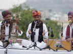 'बसंतोत्सव' कार्यक्रम में लोक गीतों की शानदार प्रस्तुति; राजस्थानी कलाकारों ने जीता श्रोताओं का दिल|जयपुर,Jaipur - Dainik Bhaskar