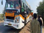 54 की जान जाने के बाद भी सुधरने को तैयार नहीं बस संचालक; 32 सीटर बस में भर रहे 60 सवारी|इंदौर,Indore - Dainik Bhaskar
