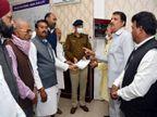 एसपी को ज्ञापन सौंपा, लगाया आरोप- कपड़ा व्यापारी उनके राष्ट्रीय नेताओं को अपशब्द बोल रहा था, केस दर्ज करो|जबलपुर,Jabalpur - Dainik Bhaskar