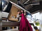 BJP नेता ने पत्नी के साथ सरकारी हेलिकॉप्टर में कराया वेडिंग फोटोशूट, एक कर्मचारी निलंबित, CM बोले-घटना को तुल न दें, नवदंपती को शुभकामना भी दी|छत्तीसगढ़,Chhattisgarh - Dainik Bhaskar