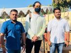 एयरपोर्ट पर फैंस ने पूर्व क्रिकेटर का गर्मजोशी से किया स्वागत, युवराज ने भी झील किनारे ली सेल्फी|उदयपुर,Udaipur - Dainik Bhaskar
