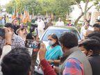 3 घंटे तक बीजेपी कोर ग्रुप में हुआ मंथन, पहली बार पूनिया की अध्यक्षता में हुई बैठक में शामिल हुईं वसुंधरा|जयपुर,Jaipur - Dainik Bhaskar