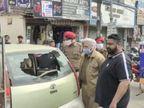 आधी रात को बाइक सवार दो युवकों ने जालंधर में घरों के बाहर खड़ी कई गाड़ियों के शीशे तोड़े, सामान नहीं चुराया जालंधर,Jalandhar - Dainik Bhaskar
