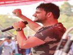 अजय हुड्डा को सीकर में गाना गाने के लिए बुलाया, भीड़ जुटाने के लिए किसान नेता कर रहे इस्तेमाल सीकर,Sikar - Dainik Bhaskar