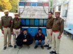 हाईवे पर खड़े ट्रकों के पास पिकअप खड़ी करते थे, मौका मिलते ही छिपे बदमाश पाइप से निकालते थे तेल जयपुर,Jaipur - Dainik Bhaskar