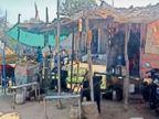 दस किमी दूर हरियाणा में दस रुपए सस्ता पेट्रोल-डीजल गांवों में बोतलों में स्टॉक, परचूनी की दुकान पर बिक रहा|अलवर,Alwar - Dainik Bhaskar