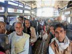 100 बसें जांचीं, इनमें 25 ओवरलोड मिलीं; सीधी बस हादसे के बाद भी यात्रियों की जान से खिलवाड़|ग्वालियर,Gwalior - Dainik Bhaskar