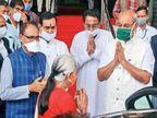 विधानसभा में राज्यपाल आनंदीबेन पटेल बोलीं- कोरोना के बाद भी योजनाओं के लिए सरकार ने धन की कमी नहीं होने दी|भोपाल,Bhopal - Dainik Bhaskar