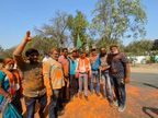 गुजरात की सभी मनपा पर भाजपा का कब्जा, भाजपा को 483, कांग्रेस को 55, AAP को 27, ओवैसी को 7 और 4 निर्दलीय जीते|गुजरात,Gujarat - Dainik Bhaskar