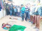 चिंघाड़ सुन दादा ने दो पाेतों के साथ भागने के लिए दरवाजा खोला तो सामने था झुंड, तीनों को पटक कर मार डाला|मध्य प्रदेश,Madhya Pradesh - Dainik Bhaskar