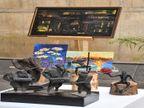 कला के जरिए प्रकृति और इंसान के मूड्स की झलक दिखा रहे हैं 40 कलाकार|चंडीगढ़,Chandigarh - Dainik Bhaskar