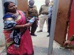 रांची की वार्ड पार्षद ने 50 दिन बाद सिविल कोर्ट में किया सरेंडर, 14 दिनों की न्यायिक हिरासत में भेजा|रांची,Ranchi - Dainik Bhaskar