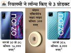 रियलमी ने नारजो 30 सीरीज में दो स्मार्टफोन लॉन्च किए, मोशन सेंसर से लैस लाइट भी बाजार में उतारी|टेक & ऑटो,Tech & Auto - Money Bhaskar