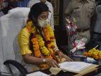 मेयर सौम्या गुर्जर को बड़ा झटका, बोर्ड बैठक में बनाई 28 में से 27 संचालन समितियों को राज्य सरकार ने किया निरस्त|जयपुर,Jaipur - Dainik Bhaskar