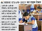 10वीं -12वीं की परीक्षाएं 6 मई से शुरू होंगी, 60% सेलेबस से आएगा पेपर; 21 लाख से ज्यादा छात्र शामिल होंगे|अजमेर,Ajmer - Dainik Bhaskar