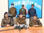 भीड़ भरे बाजार में महिला की चेन छीनकर फरार हुए थे लुटेरे, CCTV फुटेज से पुलिस ने दबोचा, दो अन्य लूट का भी हुआ खुलासा जबलपुर,Jabalpur - Dainik Bhaskar