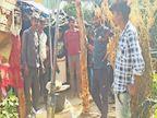 हटा के कमता गांव में एक-दो नहीं बल्कि 12 बोर से निकल रही मीथेन दमोह,Damoh - Dainik Bhaskar