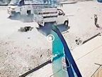 शराबबंदी वाले गुजरात में महिला ने शराबी पति को टेम्पो से बांधकर आधा किलोमीटर तक घसीटा|गुजरात,Gujarat - Dainik Bhaskar