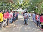 रासेयो के शिविर में छात्र-छात्राओं को सिखाए कोविड-19 से सावधानी के उपाय|श्योपुर,Sheopur - Dainik Bhaskar