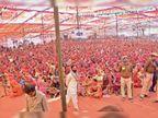 डोटासरा ने कहा-केंद्र सरकार किसानों को मजदूर बनाना चाह रही, अंबानी-अडानी के भर रही गोदाम|चूरू,Churu - Dainik Bhaskar