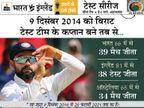 विराट के कप्तान बनने के बाद भारत ने जीते सबसे ज्यादा 39 टेस्ट, इंग्लैंड को पीछे छोड़ा|क्रिकेट,Cricket - Dainik Bhaskar
