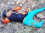 नेशनल हाइवे के पास मिली लाश; जानवरों ने एक हाथ नोंचा, हत्यारे ने सिर को कुचला ताकि पहचान न हो सके|भोपाल,Bhopal - Dainik Bhaskar