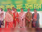 शाहजहांपुर बॉर्डर पर चल रहे किसान आंदोलन में टोंक की महिला कांग्रेस पदाधिकारियों ने लिया हिस्सा|टोंक,Tonk - Dainik Bhaskar
