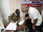 इंदौर में सुबह 9 बजे से रजिस्ट्रेशन, सेंटर पर लाइन में लगे लोग; 10 बजे से शुरू हुआ टीकाकरण|इंदौर,Indore - Dainik Bhaskar