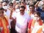 भाजपा की रिकॉर्ड जीत से गदगद प्रदेश अध्यक्ष पाटिल बोले - ब्याज के साथ हुई 2015 के नुकसान की भरपाई|गुजरात,Gujarat - Dainik Bhaskar