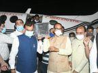 BJP प्रदेश कार्यालय में अंतिम दर्शन के लिए लाया गया, अंतिम संस्कार बुरहानपुर स्थित उनके गृह ग्राम शाहपुर में होगा|इंदौर,Indore - Dainik Bhaskar