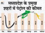 पेट्रोल की औसत कीमत 98.96 रुपए पर पहुंची, बाकी राज्यों में 90 रुपए भी नहीं|बिजनेस,Business - Dainik Bhaskar