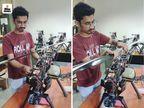 स्टार्टअप के लिए प्लेसमेंट और US के कॉलेज की सीट छोड़ी, अब ऐसे ड्रोन बना रहे जो उत्तराखंड जैसी आपदा में काम आ रहे|ओरिजिनल,DB Original - Dainik Bhaskar