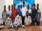 शहर में चार महिलाओं की चेन लूटने वाले गिरफ्तार, हत्या सहित कई मामले दर्ज हैं दोनों पर, एक आजीवन कारावास से दंडित|जबलपुर,Jabalpur - Dainik Bhaskar