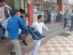 युवक को दिनदहाड़े कमरे में घेरकर गोलियाें से भून हत्या, 4 बदमाशों ने की 15 राउंड फायरिंग, बाहर आकर बोले- हमने बदला ले लिया|जालंधर,Jalandhar - Dainik Bhaskar
