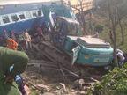 रोसड़ा में नयानगर के पास खुले फाटक से गुजर रही थी मशीन और आ गई ट्रेन, यात्री बचे, ट्रैक क्षतिग्रस्त|समस्तीपुर,Samastipur - Dainik Bhaskar