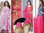 आज का खास रंग है गुलाबी, इस रंग की साड़ी में दिखाएं अपना अंदाज या पिंक कुर्ते को सलवार के साथ पहनकर दिखें सबसे अलग|लाइफस्टाइल,Lifestyle - Dainik Bhaskar