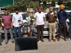 फर्जी डॉक्यूमेंट्स पर बैंक लोन ले जब्त गाड़ियां बता बेचने वाले गैंग के 4 मेंबर गिरफ्तार, 6 लग्जरी कारें बरामद, पंजाब व MP में सबसे ज्यादा बेचीं|जालंधर,Jalandhar - Dainik Bhaskar