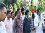 पंजाबमिनी बस ऑप्रेटर्स एसोसिएशन ने कहा-सरकार ने उनकी मांगें न मानी तो 9 अप्रैलको चंडीगढ़ मेंमिनी बस फूकेंगे|चंडीगढ़,Chandigarh - Dainik Bhaskar