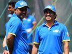वीरू ने कहा- ये हैं हमारे भगवान, अब भी क्रिकेट खेलने से बाज नहीं आ रहे, सचिन का जवाब सुनकर सभी हंस पड़े|रायपुर,Raipur - Dainik Bhaskar