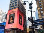 प्रियंका चोपड़ा की बुक 'अनफिनिश्ड' न्यू यॉर्क सिटी के 6 मंजिला बिलबोर्ड पर छाई, ऋतिक-दीया ने दी बधाई; यूजर्स बोले-हमारे लिए गर्व हैं आप|बॉलीवुड,Bollywood - Dainik Bhaskar