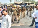 कानपुर में पुलिस की गाड़ी से उतरते ही ट्रक ने रौंदा, ड्राइवर और दरोगा के आरोपी बेटे का साथी गिरफ्तार|उत्तरप्रदेश,Uttar Pradesh - Dainik Bhaskar