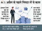 31 मार्च तक निपटा लें ये 8 जरूरी काम, वरना उठाना पड़ सकता है नुकसान|बिजनेस,Business - Money Bhaskar