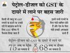 पेट्रोल और डीजल को GST के दायरे में लाने के लिए GST परिषद की सिफारिश जरूरी, ये सरकार के हाथ में नहीं|बिजनेस,Business - Dainik Bhaskar